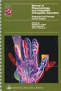 Download Manual of Rheumatology and Outpatient Orthopedic Disorders: Diagnosis and Therapy (Books) fb2, epub
