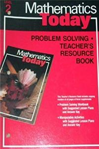 Download Mathematics Today (Problem Solving Teacher's Resource Book, Level Red (Grade 2)) fb2, epub