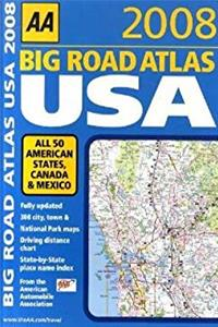 Download Big Road Atlas USA (AA Atlases and Maps) by AA Publishing fb2, epub