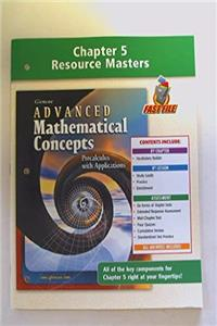 Download Chapter 5 Resource Masters: Advanced Mathematical Concepts Precalculus With Application fb2, epub