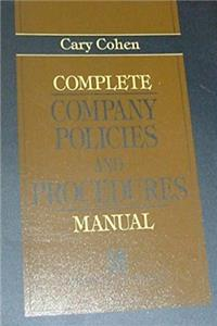 Download Complete Company Policies and Procedures Manual, The fb2, epub