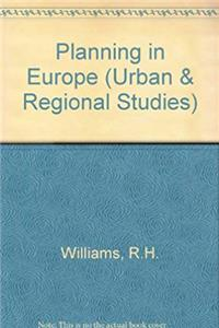 Download Planning in Europe: Urban and Regional Planning in the Eec (Urban and Regional Studies) fb2, epub