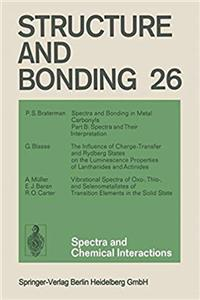 Download Spectra and Chemical Interactions (Structure and Bonding 26) fb2, epub