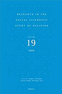 Download Research in the Social Scientific Study of Religion, Volume 19 (v. 19) fb2, epub
