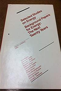Download Background Papers for Energy: Next Twenty Years fb2, epub