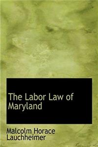 Download The Labor Law of Maryland (Large Print Edition) fb2, epub