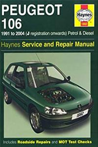 Download Peugeot 106 Petrol and Diesel Service and Repair Manual: 1991 to 2004 (Haynes Service and Repair Man fb2, epub