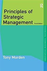 Download Principles of Strategic Management (Innovative Business Textbooks) fb2, epub