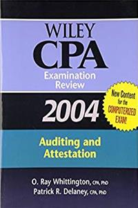 Download Wiley CPA Examination Review 2004, Auditing and Attestation (Wiley Cpa Examination Review Auditing) fb2, epub