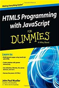 Download HTML5 Programming with JavaScript For Dummies fb2, epub
