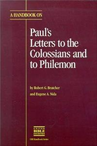 Download A Handbook on Paul's Letters to the Colossians and to Philemon (UBS HANDBOOK) fb2, epub