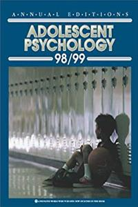 Download Annual Editions: Adolescent Psychology 98/99 (Annual Editions) fb2, epub