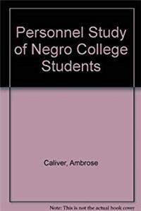 Download Personnel Study of Negro College Students fb2, epub